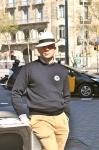 Passejada 2013: caballero con panamá
