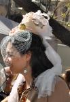 Passejada 2013: un tocado de novia que recibió muchos aplausos