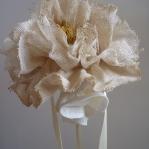 Flor para recoger con lazo