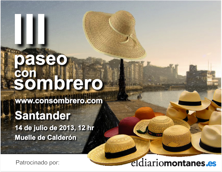 III Paseo con Sombrero de Santander