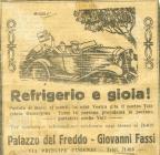 Refrigerio y Alegria 1920