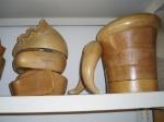 Hormas para sombreros en el taller de Charo Iglesias, Madrid