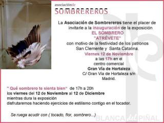 invitación El Sombrero, atrévete