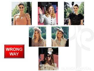 Sombreros de boda wrong
