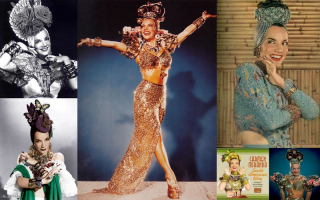 Collage películas Carmen Miranda