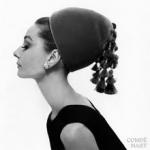 Gorro de terciopelo de Givenchy 1964