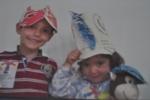 gorros de papel, mnac mayo 2011
