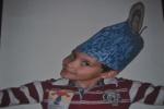 gorro de papel mnac 2011