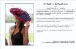 invitacion Festival del Sombrero 2013