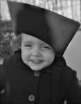 Sombrero de ala ancha para niña 2012