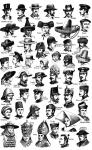 Nombres de diferentes modelos de Sombreros