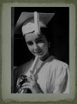 Graduation Cap in 1950