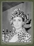 Leopard Cloche in London in 1963