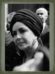 Black Turban for Burton\'s Funeral in 1984