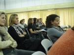 El público al que se dirigía la conferencia eran madres con niños pequeños
