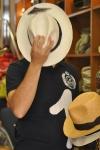 Cliente de la sombrerería Albiñana, Oviedo