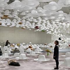 Akio Hiratas exposición, by Nendo