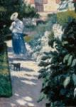 Gustave Caillebotte Título:     Dalias, jardín de Petit-Gennevilliers, 1893