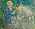 Berthe Morisot Título:     En el Bois de Boulogne, c. 1879