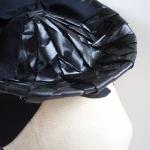 Sombrerito de paja y fieltro restaurado